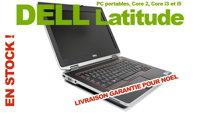 PC portable DELL à partir de 99 Euros
