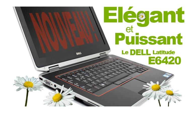 PC portable DELL Latitude E6420 windows 7
