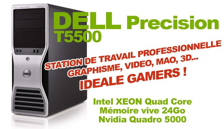 Station de travail DELL Precision T5500